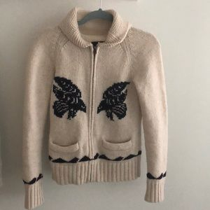 Aritzia Sea to sky thunderbird sweater